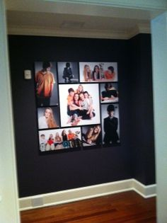 Gorgeous family portrait installation for a local family in Darien!