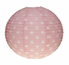 Lampenschirm mit Tupfen pink: Amazon.de: Beleuchtung