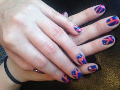 M is for Mindy! Nails by Oksana #nails #nail art