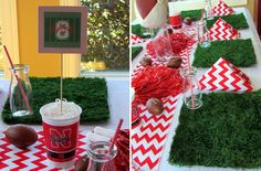 {Party Feature} Football Birthday Party!
