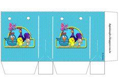 Lottie Dottie Chicken: Free Printable Candy Paper Bag.