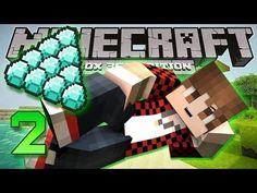 Minecraft Xbox - How To Find Diamonds! w/Mitch & Jerome! [2]