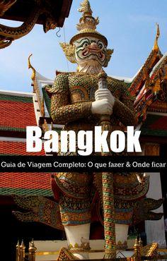 Roteiro de Viagem para Bangkok! Atrações turísticas de Bangkok, onde ficar, como se locomover e não cair nos golpes. Tudo que você precisa saber para planejar sua viagem para a capital da Tailândia.  via @loveandroad