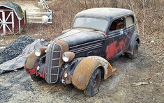 EXCLUSIVE: 1936 Dodge Coupe Project - http://barnfinds.com/exclusive-1936-dodge-coupe-project/