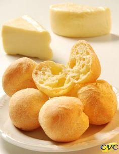 Pão de Queijo   Receita típica de Minas Gerais =D