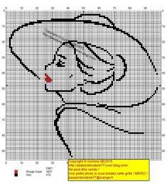 Risultati immagini per grille point de croix silhouette de femme Xmas Cross Stitch, Cross Stitching, Cross Stitch Embroidery, Hand Embroidery, Funny Cross Stitch Patterns, Cross Stitch Charts, Blackwork, Cross Stitch Silhouette, Paris Mode