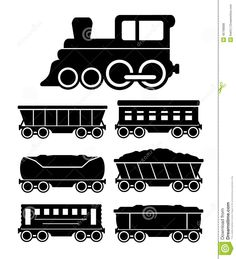 Set Train Cars For Travel Or Cargo Delivery - Download From Over 30 Million High Quality Stock Photos, Images, Vectors. Sign up for FREE today. Image: 46798898