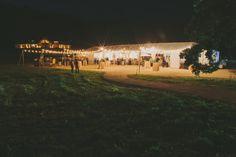 Night reception with string lights | Santa Ynez Valley, California Wedding | Lovelyfest Event Design