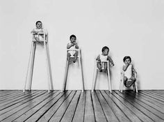Maartje Steenkamp - Children's highchair different levels