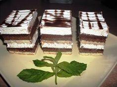 Krémes csokiszelet – nagyon habos és nagyon fincsi! :)
