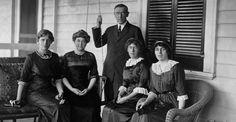 Woodrow Wilson and Family
