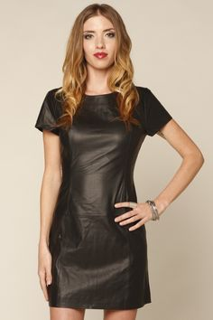 Short leather dress - Women - Online Store - Pepe Jeans London ...