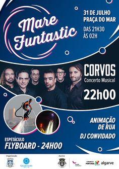 Algarve No Limits: MARE FUNTASTIC: ESPETÁCULO DE FLYBOARD, ARTES PERF...