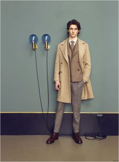 BOGLIOLI FALL/WINTER 2015 MENSWEAR COLLECTION FEATURES SHORTER JACKETS & HIGH WAIST TROUSERS