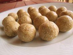 Raw Anzac (cashew & sesame seed) energy ballz