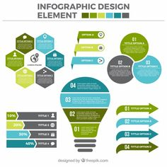 30 Templates & Vector Kits to Design Your Own Infographic Useful Infographic elements in Flat Design What Is An Infographic, Infographic Resume, Creative Infographic, Infographic Templates, Resume Templates, Web Design, Design Blog, Vector Design, Design Trends