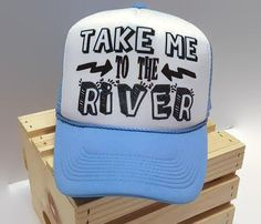 Take Me To The River by WakeandSand on Etsy