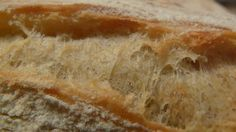 Pain baguette tradition sans pétrissage levain naturel