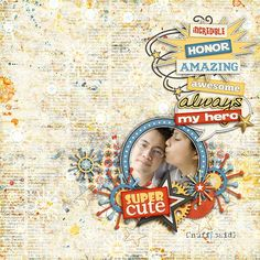 Tutorials by Sweet Shoppe Designs » Blending Background Papers