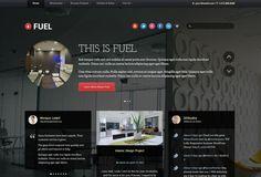 Fuel WordPress theme