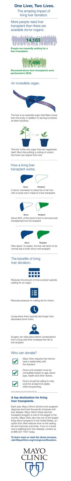 The amazing impact of living liver donation.