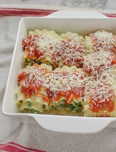 Recipe: Spinach Lasagna Roll-Ups   Kitchn