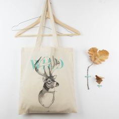 Tote bag Be Wild | Antic&Chic