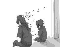Itachi e sasuke uchiha (naruto) Itachi Uchiha, Naruto Shippuden, Boruto, Kakashi, Anime Naruto, Manga Anime, Naruto Art, Naruto Wallpaper, Akatsuki