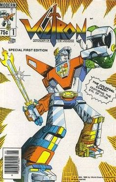 First ever Voltron Comic