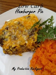 Low Carb Hamburger Pie is easy and satisfying! Low Carb Hamburger Pie is a satisfying low carb meal that is easy to put…