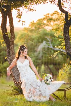 Rancho Mirando Bridal Session Austin Wedding Photographer Hill Country