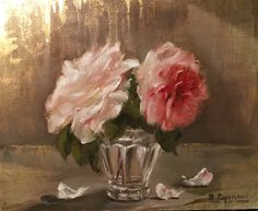Oil on linen by Brigitte Cazenave . Soon for sale on dailypaintworks