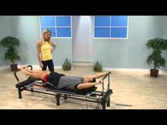 The AeroPilates Pull-Up Bar is a great accessory for men. This attachment fits any AeroPilates reformer that has pulley risers. To use the Pull-Up Bar, simpl. Pilates Workout Routine, Pilates Reformer Exercises, Pilates Barre, Gym Workouts, Mat Exercises, Stretches, Aero Pilates Machine, Aeropilates Reformer, Pilates Foam Roller