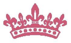 free princess crown pattern