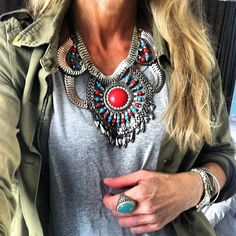 .@Anna Danielsson | Todays close up necklace from HM #todays #picoftheday #hm #zara #cos #outfit ...