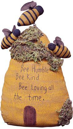 Bee Humble Beehive - Kruenpeeper Creek Country Gifts