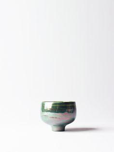 Bright Green Sake Cup - RYOTA AOKI 青木良太