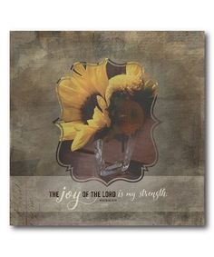 Courtside Market The Joy of the Lord Sunflowers Wrapped Canvas Joy Of The Lord, Sunflowers, Wrapped Canvas, Moose Art, Animation, Crafty, Gallery, Artist, Projects