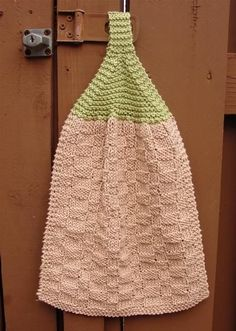Welcome Home Kitchen Set - Free Knitting Pattern for Kitchen Towels and Dishcloths More