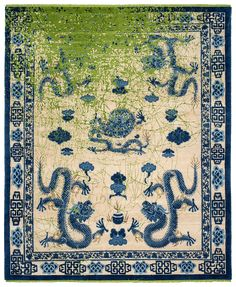 Jan Kath, Imperial Dragon, Horse Rugs, Year Of The Dragon, Legendary Creature, Hand Knotted Rugs, Bohemian Rug, Carpet, Creatures