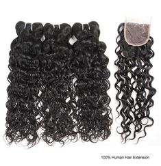 Brazilian Virgin Weft Nature Wave Virgin Remy Hair Extensions,One More Brazilian Virgin Human Hair Nature Wave Hair 3 or 4 Bundles With Closure #brazilianhair #laceclosure
