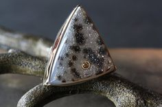 Items similar to Druzy Jasper and Champagne Diamond Ring in Gold and Sterling Silver on Etsy I Love Jewelry, Jewelry Design, Alexis Russell Jewelry, Champagne Diamond Rings, Quartz Jewelry, Gemstone Necklace, Ring Designs, Handcrafted Jewelry, Jewelry Accessories