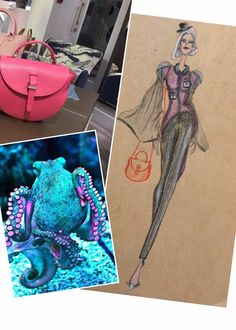 Design #23 of my 30 Days of November Designing with Meli Melo bags as a base of inspiration