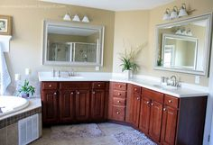 New House to Home: Adding Personality to the Master Bathroom - Part 1
