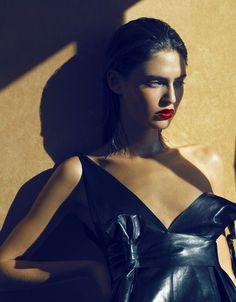 'Smoking Gun'   Bianca Balti By Camilla Akrans For Numéro #69