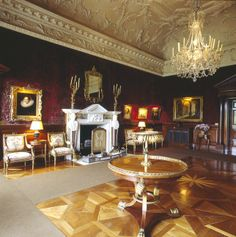 The Drawing Room at Russborough House