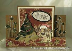 Kerstin's kleine Bastelwelt: Weihnachtskarten - Finale