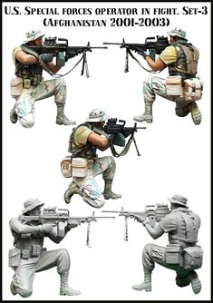 The SAW gunner from my SOF Operator Vignette. Click on the picture for more details.