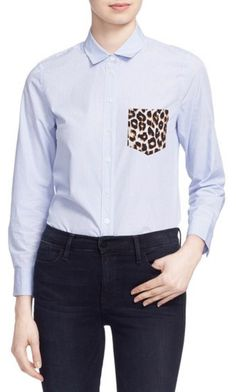 3fa54ca08b8  Leema  Pocket Detail Stripe Cotton Shirt. Nordstrom Anniversary SaleTailored  ...