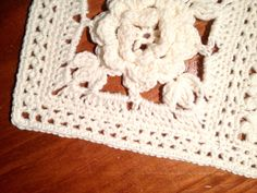 Crochet - Flat Braid Edging to match a Flat Braid join - Free pattern - Downloaded and printed